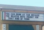 You Can Drink At 7 Am Because...