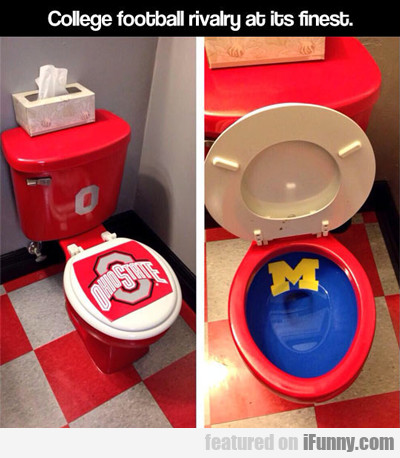 College Football Rivalry At Its Finest...