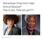 Remember Chad From High School Musical?