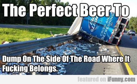 The Perfect Beer To...
