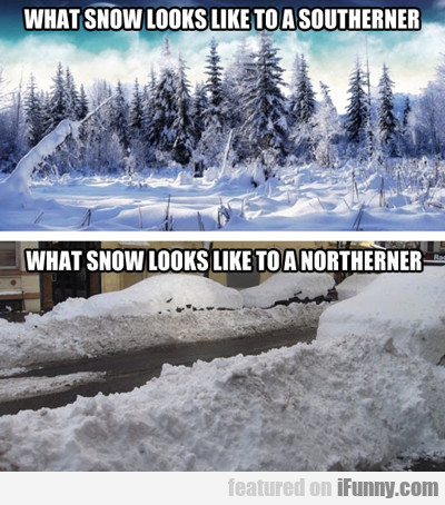 What Snow Looks Like...