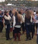 Apparently College Girls Dress Like Han Solo Today
