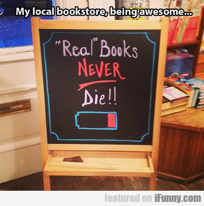 My Local Book Store...