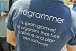 Programmer... And Organism That Turns Pizza...