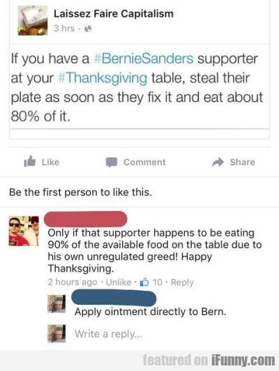 If You Have A Bernie Sanders