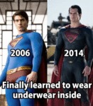 Finally Learned To Wear Underwear Inside...