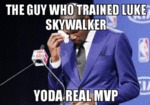 The Guy Who Trained Luke Skywalker...