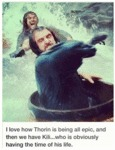 I Love How Thorin Is Being All Epic...