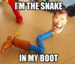 I'm The Snake In My Boot...