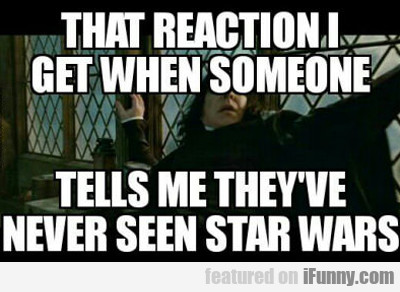That Reaction I Get When Someone Tells Me They...