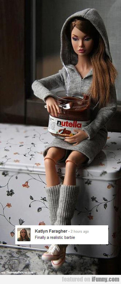 Finally A Realistic Barbie...