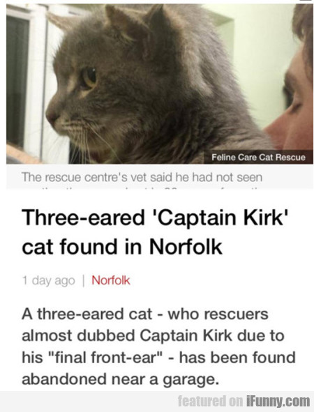 Three Eared Capitan Kirk