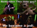 Remember This Little Guy? He Grew Up To Be A Jedi
