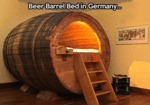 Beer Barrel Bed In Germany...
