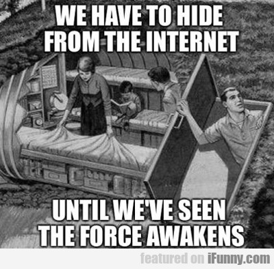 We Have To Hide From Internet...