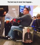 The Best Way To Never Lose Luggage...