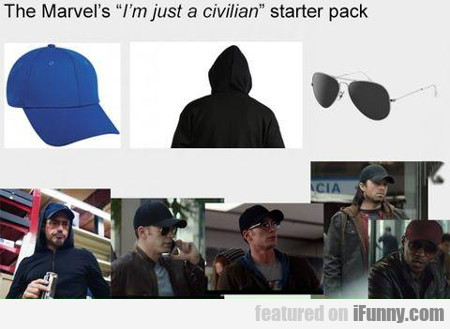 The Marvel's I'm Just A Civilian...