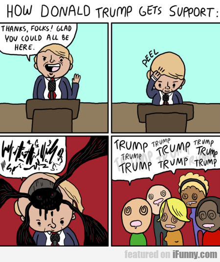 How Donald Trump Gets Support