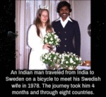 An Indian Man Traveled From India...