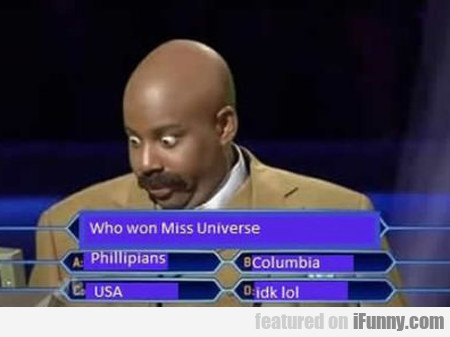 Who Won Miss Universe...