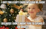 I Got You A Gift Card Instead Of Cash