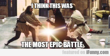 I Think This Was The Most Epic Battle...