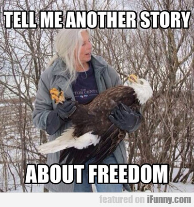 Tell Me Another Story About Freedom...
