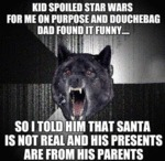 Kid Spoiled Star Wars...