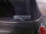Adults On Board...