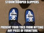 Stormtrooper Slippers...