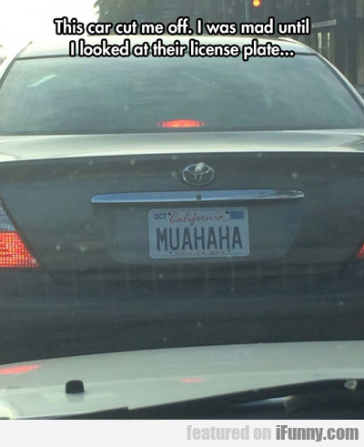 This Car Cut Me Off, I Was Mad Until...