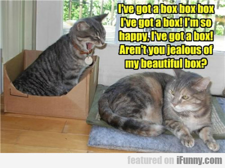 I Ve Got A Box Box Box