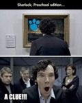 Sherlock, Preschool Edition...