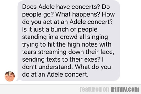 Does Adele Have Concerts?