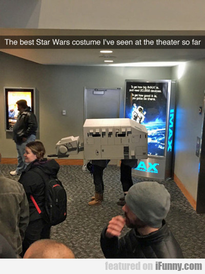 The Best Star Wars Costume I've Seen...