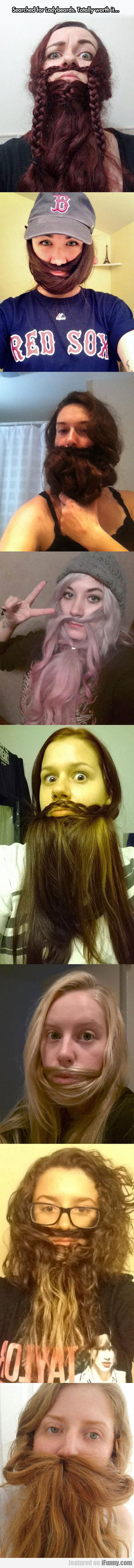 Searched For Ladybeards...