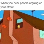 When You Hear People Arguing...