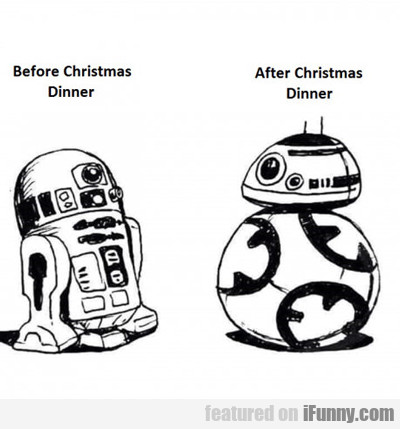 Before Christmas Dinner...