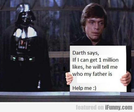 Darth Says...