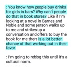 You Know How People Buy Drinks For Girls?