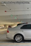Best Invention For A Parking Garage Ever...