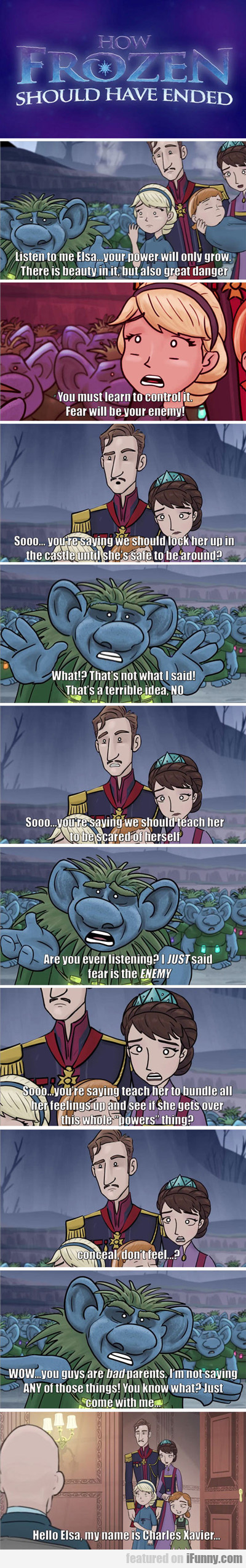 Frozen: How It Should Have Ended...