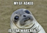 My Gf Is Asked: Is Star Wars Real?