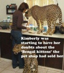 Kimberley Was Starting To Have Her Doubts...