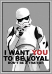 I Want You To Be Loyal...