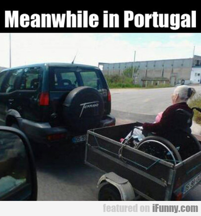 Meanwhile In Portugal...