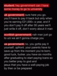 Hey Government Can I Have Some Money?