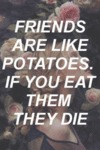 Friends Are Like Potatoes...