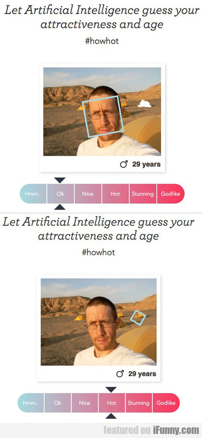Let Artificial Intelligence Guess Your Age...