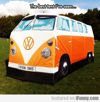 The Best Tent I Have Ever Seen...